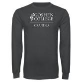 Charcoal Long Sleeve T Shirt-Grandpa