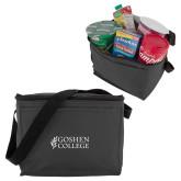 Six Pack Grey Cooler-Goshen College Stacked
