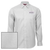 Red House White Diamond Dobby Long Sleeve Shirt-Goshen College Stacked