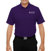 Under Armour Purple Performance Polo-Goshen College Stacked