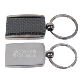 Corbetta Key Holder-Goshen College Stacked Engraved