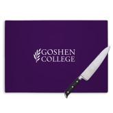 Cutting Board-Goshen College Stacked