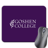 Full Color Mousepad-Goshen College Stacked
