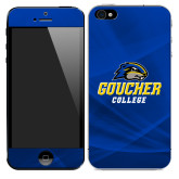 iPhone 5/5s/SE Skin-Goucher College Stacked