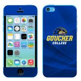 iPhone 5c Skin-Goucher College Stacked