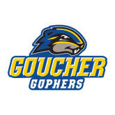 Medium Decal-Goucher Gophers Stacked
