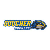 Medium Decal-Goucher Gophers Horizontal