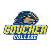 Medium Decal-Goucher College Stacked
