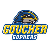 Large Decal-Goucher Gophers Stacked