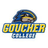 Large Decal-Goucher College Stacked