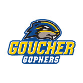 Small Decal-Goucher Gophers Stacked