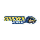 Small Decal-Goucher Gophers Horizontal