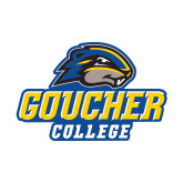 Small Decal-Goucher College Stacked