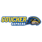 Extra Large Decal-Goucher Gophers Horizontal