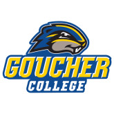 Extra Large Decal-Goucher College Stacked