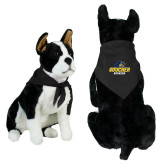 Black Pet Bandana-Goucher Gophers Stacked