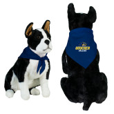 Royal Pet Bandana-Goucher College Stacked