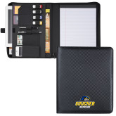 Carbon Fiber Tech Padfolio-Goucher Gophers Stacked