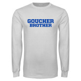 White Long Sleeve T Shirt-Brother