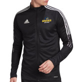 Adidas Black Tiro 19 Training Jacket-Goucher College Stacked