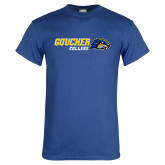 Royal T Shirt-Goucher College Horizontal