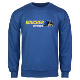 Royal Fleece Crew-Goucher Gophers Horizontal
