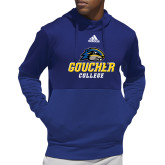Adidas Royal Team Issue Hoodie-Goucher College Stacked