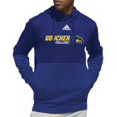 Adidas Royal Team Issue Hoodie-Goucher College Horizontal
