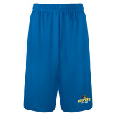 Performance Classic Royal 9 Inch Short-Goucher College Stacked