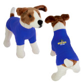 Classic Royal Dog T Shirt-Goucher College Stacked