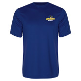 Performance Royal Tee-Goucher Gophers Stacked