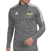 Adidas Grey Tiro 19 Training Jacket-Goucher College Stacked