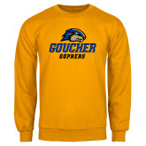 Gold Fleece Crew-Goucher Gophers Stacked