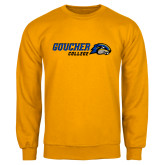 Gold Fleece Crew-Goucher College Horizontal