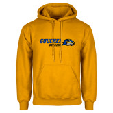 Gold Fleece Hoodie-Goucher Gophers Horizontal