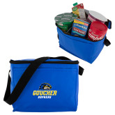 Six Pack Royal Cooler-Goucher Gophers Stacked