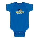 Royal Infant Onesie-Goucher College Stacked