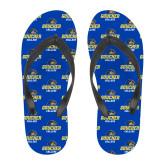 Full Color Flip Flops-Goucher College Stacked