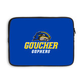 13 inch Neoprene Laptop Sleeve-Goucher Gophers Stacked