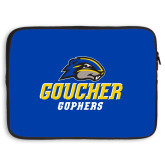 15 inch Neoprene Laptop Sleeve-Goucher Gophers Stacked