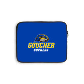 10 inch Neoprene iPad/Tablet Sleeve-Goucher Gophers Stacked
