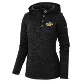Columbia Ladies Darling Days Black Pullover-Goucher Gophers Stacked