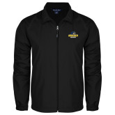 Full Zip Black Wind Jacket-Goucher Gophers Stacked