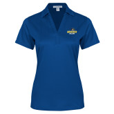 Ladies Royal Performance Fine Jacquard Polo-Goucher College Stacked