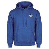 Royal Fleece Hoodie-Goucher Gophers Stacked