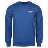 Royal Fleece Crew-Goucher Gophers Stacked