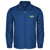 Full Zip Royal Wind Jacket-Goucher Gophers Stacked