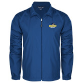 Full Zip Royal Wind Jacket-Goucher College Stacked