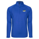 Sport Wick Stretch Royal 1/2 Zip Pullover-Goucher Gophers Stacked