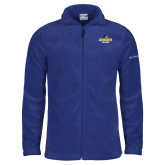Columbia Full Zip Royal Fleece Jacket-Goucher College Stacked